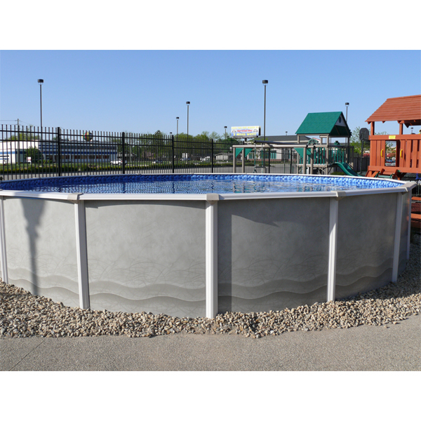 Dynasty Above Ground Swimming Pool By Mighty Sun Pools Asahi Pools Family Leisure