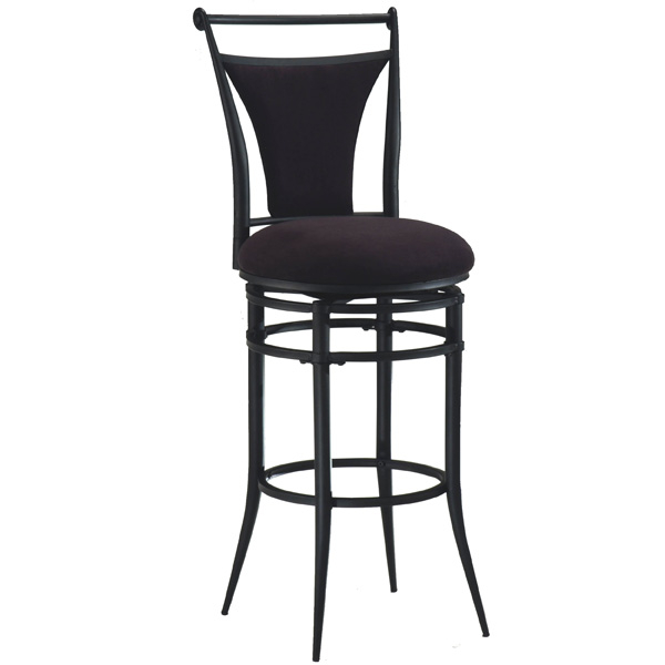 Free Shipping Bar Stools by Hillsdale Cierra Black Bar  : Bar Stools Cierra Black Bar Stool 3431 from www.familyleisure.com size 600 x 600 jpeg 52kB