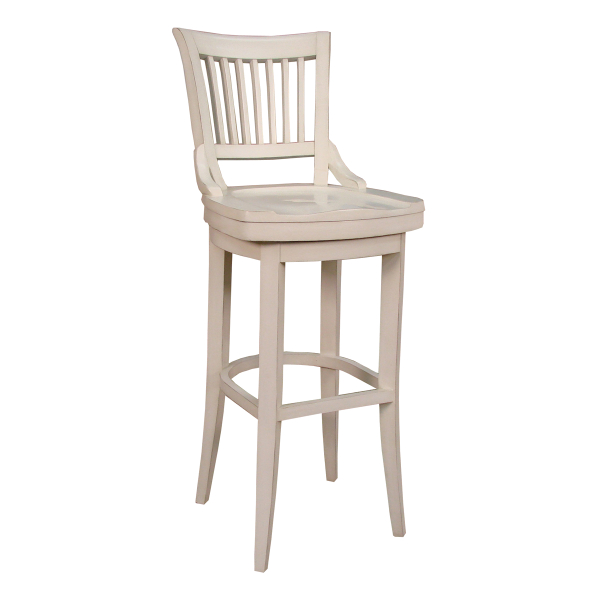 Liberty Antique White Bar Stool by American Heritage  : Bar Stools Liberty Antique White 6852 from www.familyleisure.com size 600 x 600 jpeg 90kB