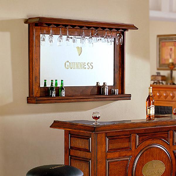 guinness back bar mirror by east coast innovations. Black Bedroom Furniture Sets. Home Design Ideas