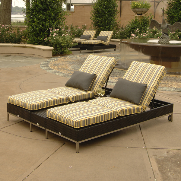 Cannes Chaise Lounge Collection by Ebel Outdoor Furniture