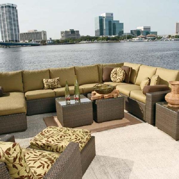 ... Mille Sectional; Designing Patio Furniture Jacksonville ...
