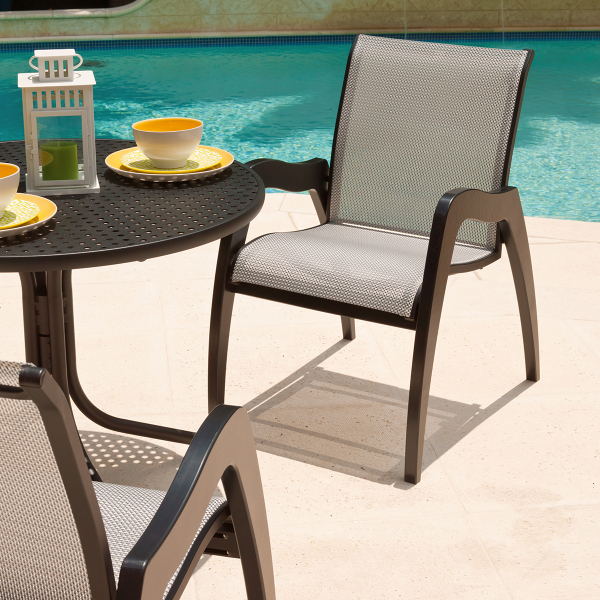 Dune Mgp Sling Dining Collection By Telescope Family Leisure