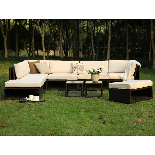 The Mr Hyde Woven Sectional by Caluco