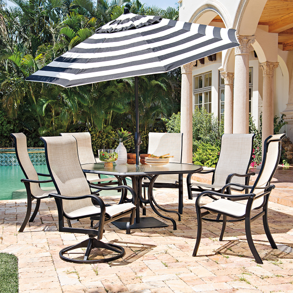 Ocala Sling Dining Collection By Telescope Family Leisure