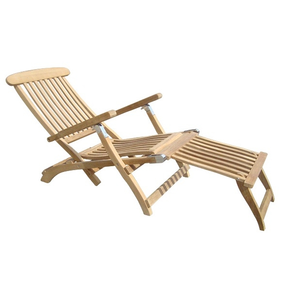 Steamer Deck Chair by Royal Teak Collection