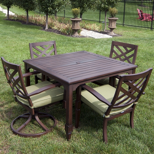 Seabury Dining Collection By Veranda Classics Patio Furniture Family Leisure