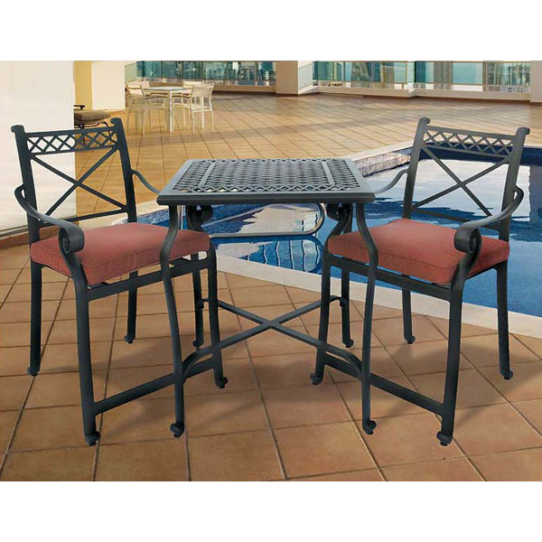 Free shipping alexandria balcony patio set for High quality outdoor furniture