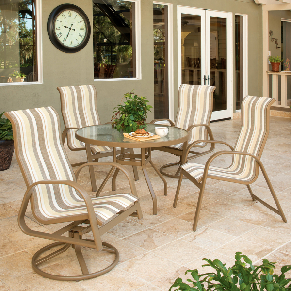 Anna Maria Sling Dining Collection by Windward Design Group