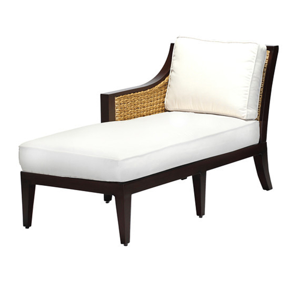 Aqua chaise lounge patio furniture by summer classics for Aqua chaise lounge cushions