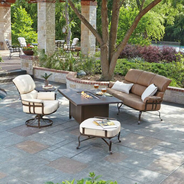 Atlas deep seating collection by woodard outdoor patio for Outdoor furniture quotes