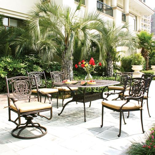 Balmoral Dining Patio Furniture by Hansen