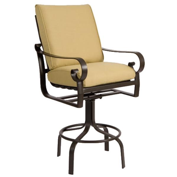 Belden Cushion Bar Stool by Woodard Family Leisure  : Casual Patio Furniture Belden Cushion Bar Stool 9206 from familyleisure.com size 600 x 600 jpeg 108kB