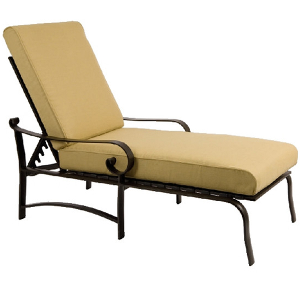 Belden Cushion Chaise Lounge Set by Woodard Patio Furniture