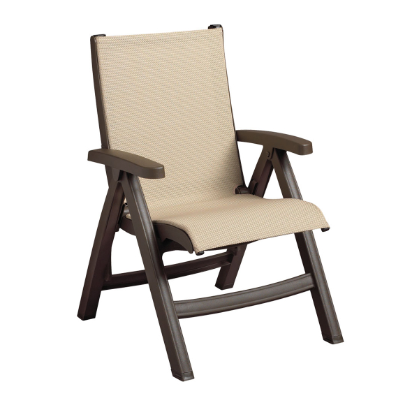 Belize Sling Chair Bronze Mist 2 Pack By Grosfillex