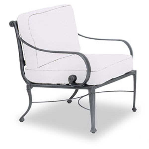 The bellagio cast aluminum deep seating collection for Bellagio chaise lounge