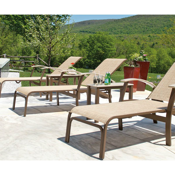 Belle isle sing chaise lounge collection by telescope for Outdoor furniture quotes