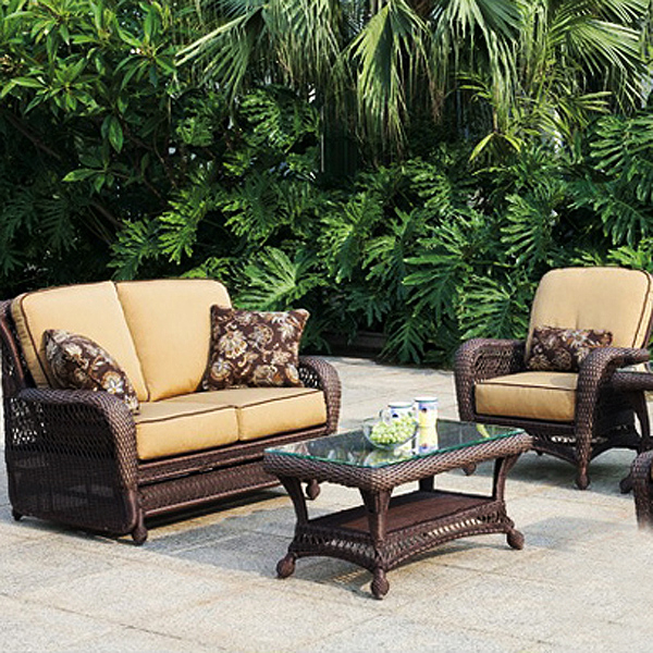 blogs bring paradise home with wicker patio furniture from bahama