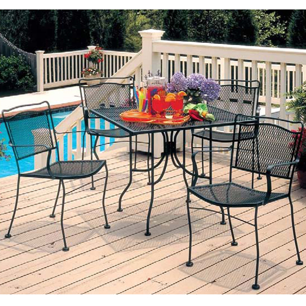 Cahaba Dining Collection By Meadowcraft Outdoor Furniture Family Leisure