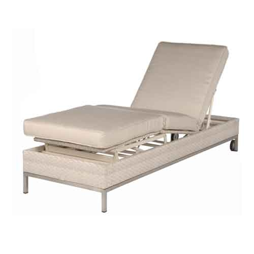 Cannes chaise lounge collection by ebel outdoor for Casual chaise lounge
