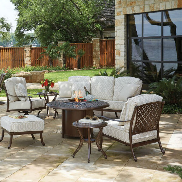 Casa Deep Seating Collection By Woodard Outdoor Patio Furniture Family Leisure