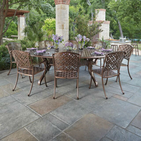 Casa Dining Collection by Woodard Outdoor Patio Furniture