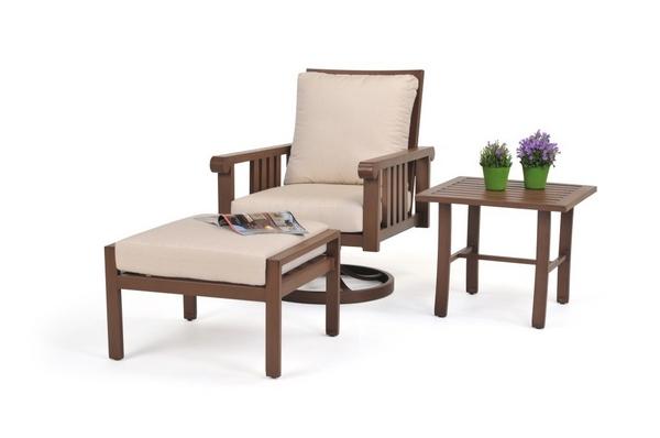 casual patio furniture castille 3 piece set
