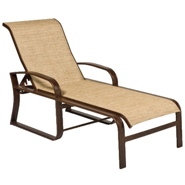 Cayman Isle Outdoor Chaise Lounge by Woodard Patio Furniture