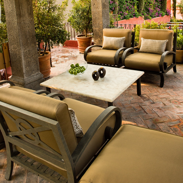 What Atmosphere Are You Looking To Create In Your Outdoor Space - Woodard aluminum patio furniture