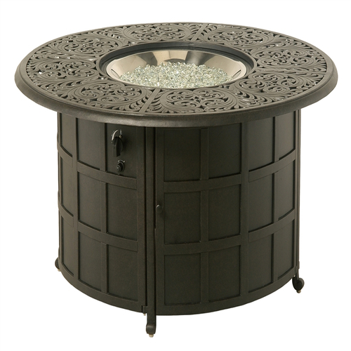 Chateau 48 39 39 Enclosed Gas Fire Pit By Hanamint Chateau Outdoor Furn