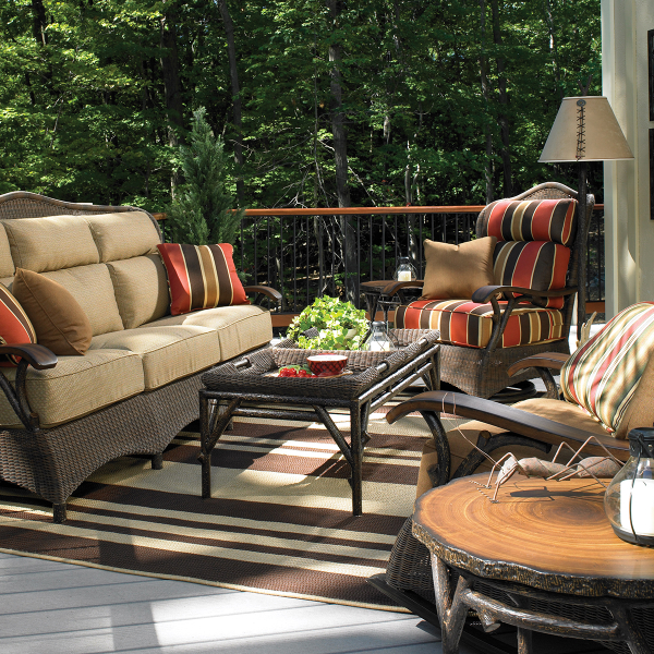 Chatham Run Deep Seating - Whitecraft Outdoor Furniture By Woodard