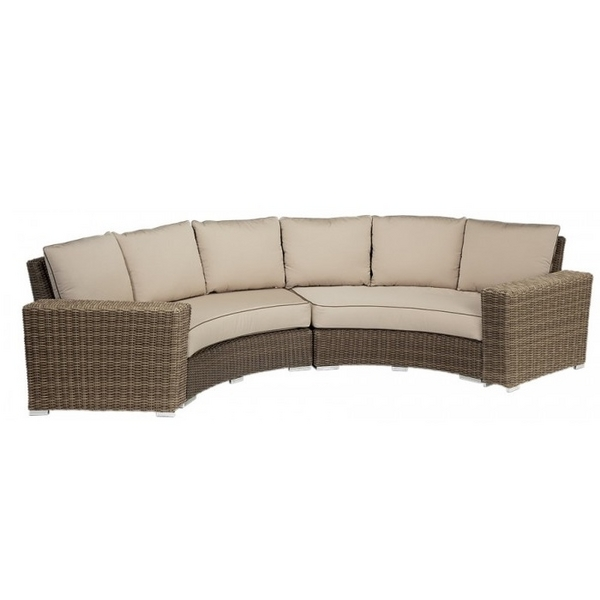 coronado curved sectional collection by sunset west