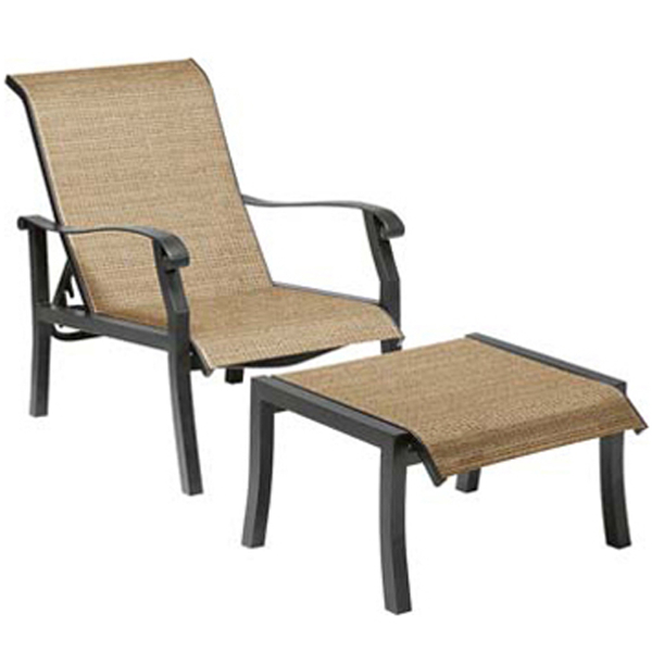 Cortland Sling Deep Seating Patio Collection by Woodard