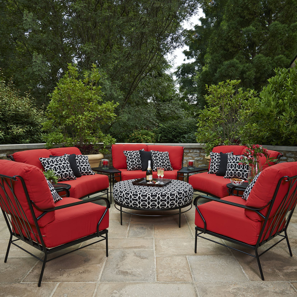 Cove Deep Seating Collection By Meadowcraft Timeless Outdoor Patio Furniture Family Leisure