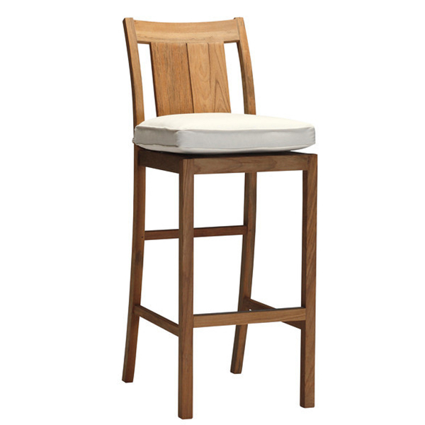 Croquet Teak Bar Stool