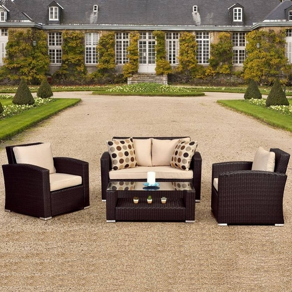 Wicker Outdoor Furniture Care Florida Keys Sectional Set