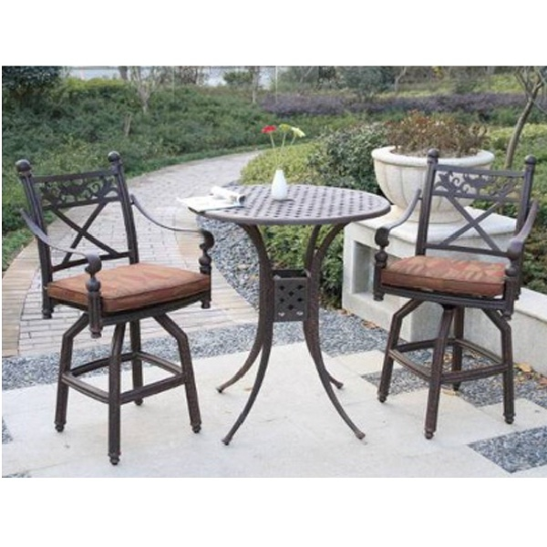 bar height patio dining set patio design ideas