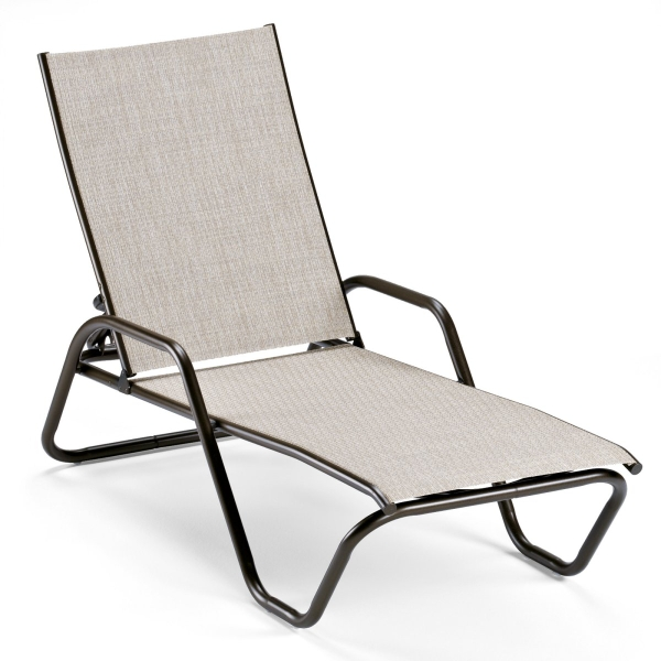 Gardenella four position stacking chaise by telescope for Casual chaise lounge