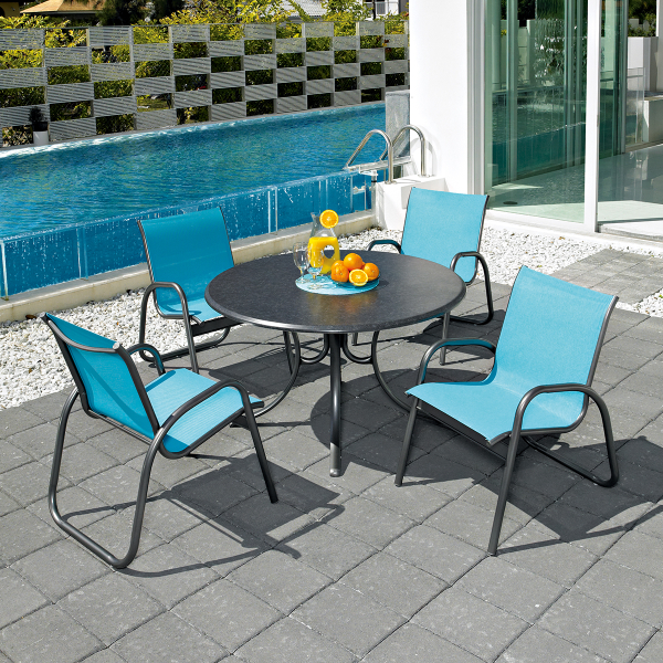 Gardenella Sling Dining Collection by Telescope Casual