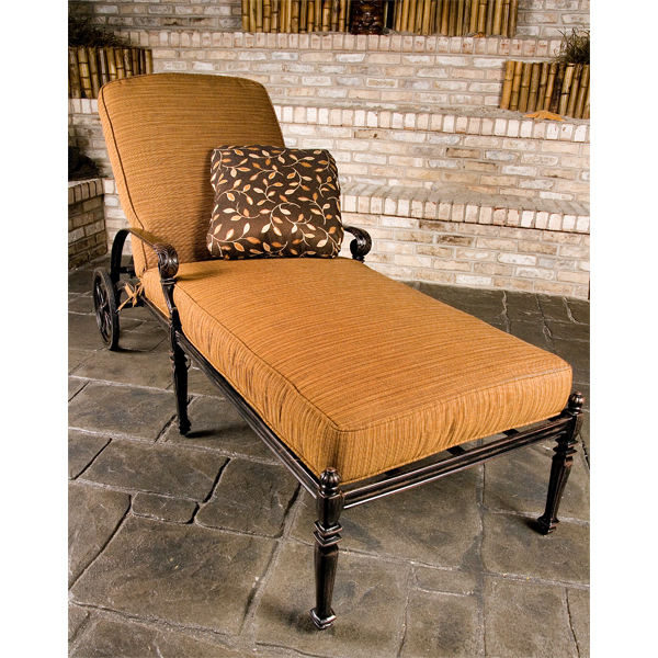 Grand Terrace Chaise Lounge Set by Gensun | Free Shipping ...