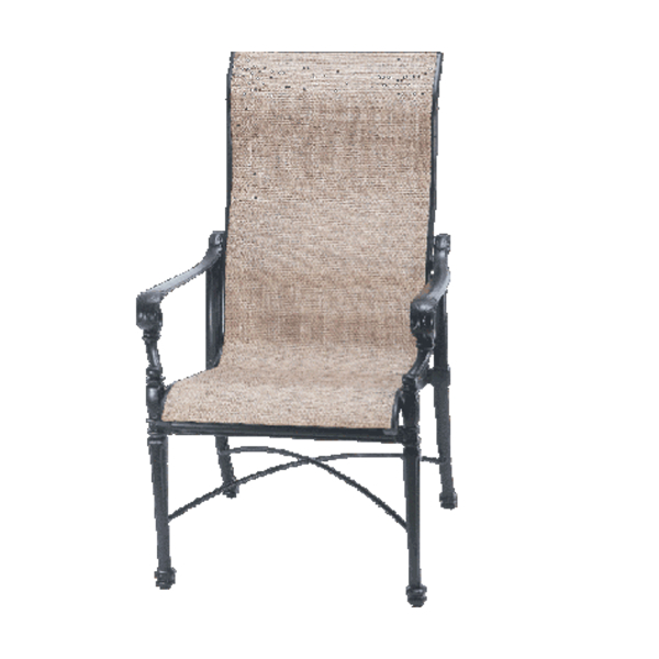 Grand Terrace Sling Dining Patio Set by Gensun | Family Leisure