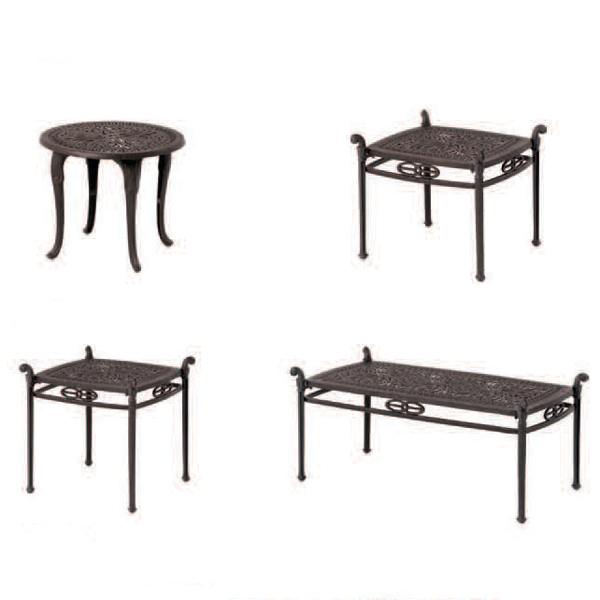 Grand Tuscany Deep Seating Patio Set by Hanamint