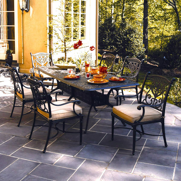 Grand Tuscany Patio Furniture Dining Set Hanamint