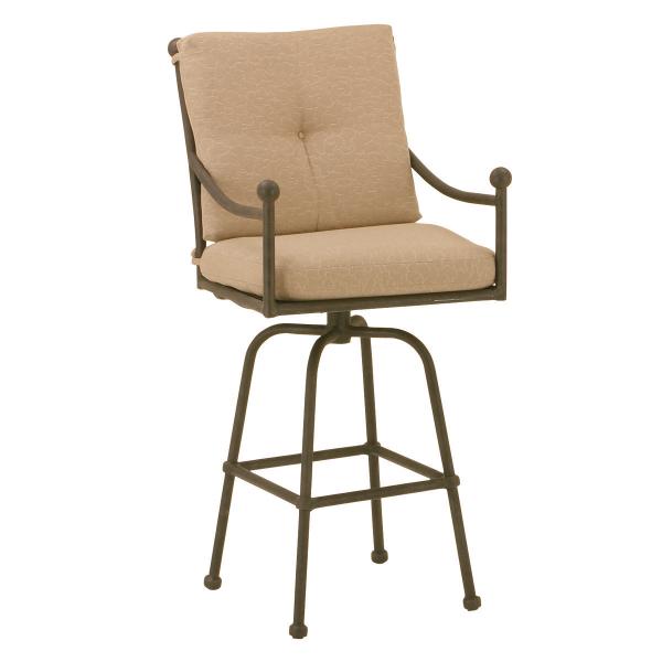 Hacienda Swivel Counter Chair By Woodard Landgrave