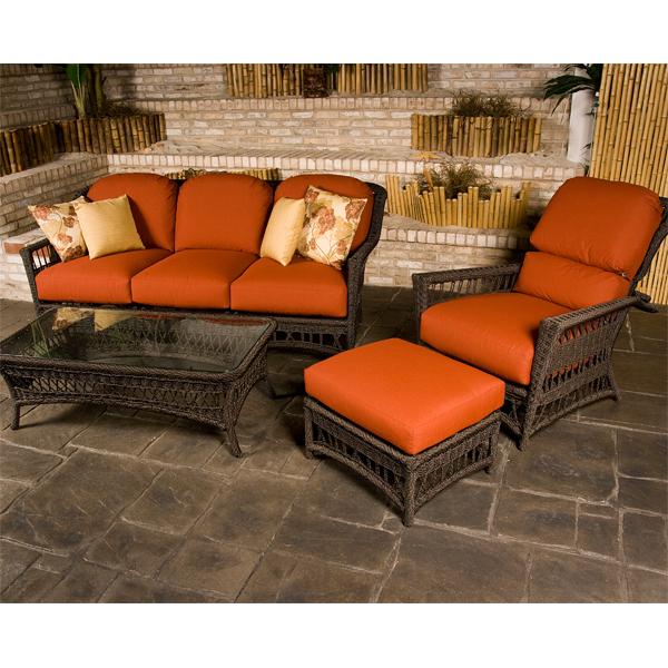 Harbor Breeze Deep Seating Wicker Patio Furniture by Lane