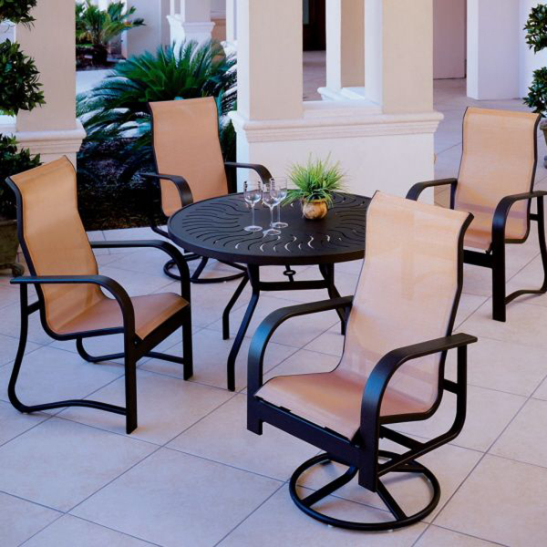 Harbourage Sling Outdoor Patio Set Made in America USA brand by Windward
