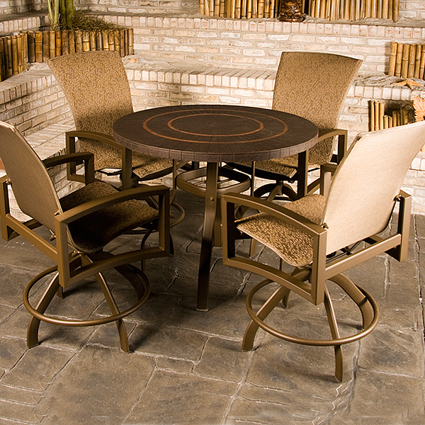 Counter Height Patio Set : Havenhill Counter Height Patio by Homecrest Family Leisure