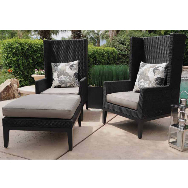 Look For Vibrant Accent Colors In Both Cushions And Patio Furniture
