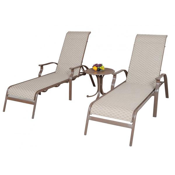 island breeze 3 pc sling chaise lounge set by panama jack. Black Bedroom Furniture Sets. Home Design Ideas