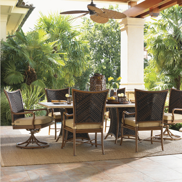 Island Estate Lanai Dining Set By Tommy Bahama Outdoor